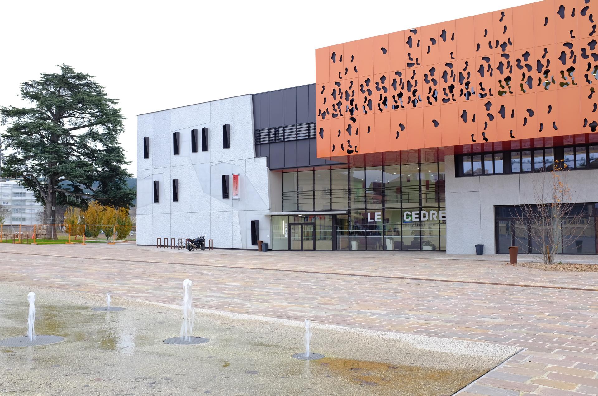 Ville de chenove le c dre centre culturel et de for Centre rencontre courfaivre piscine